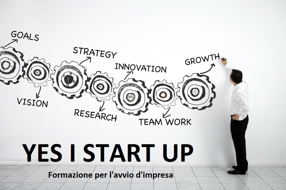 Yes I Start Up – Formazione per l'avvio di impresa