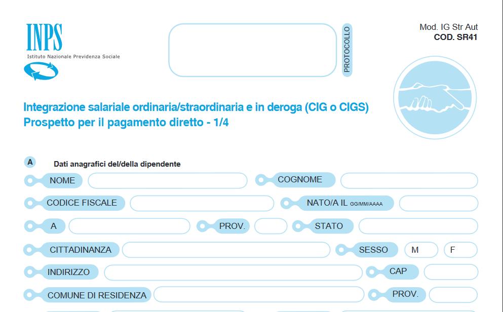 Codice INPS di Federterziario per la riscossione dei contributi associativi sulle prestazioni temporanee (Naspi, Dis-coll, Cig,….)